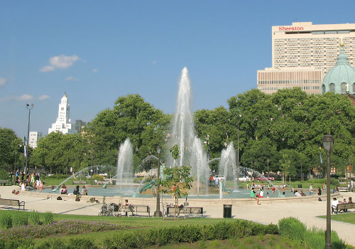 Swann Memorial Fountain in Logan Circle