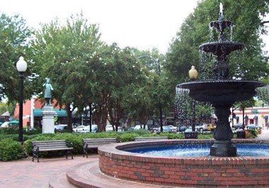 Marietta Square Fountain