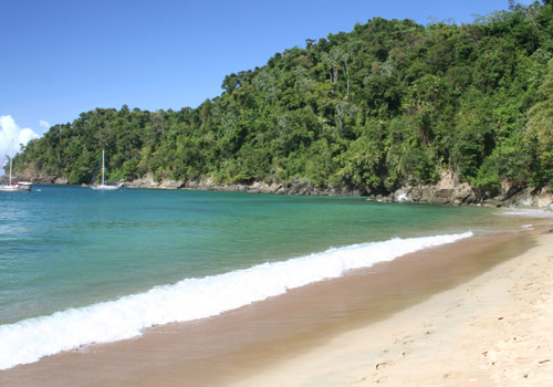 Tranquil Englishman's Bay in Tobago