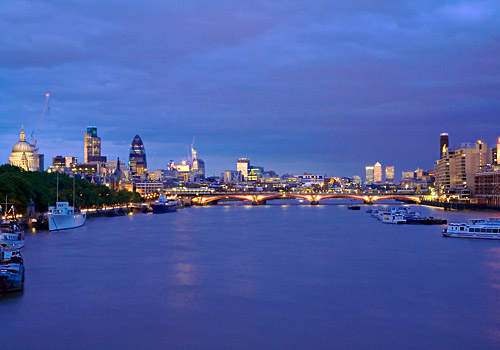 London at Twilight