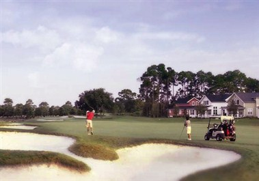 Golfing in Sandestin