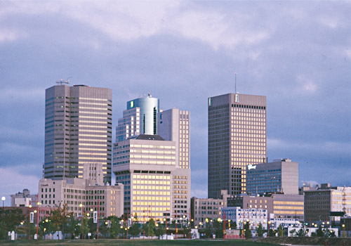 Winnipeg Downtown Skyline