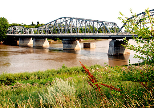 Redwood Bridge over the Red River