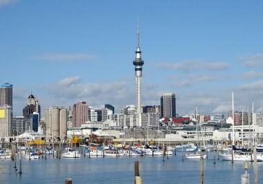 Auckland Sky Tower & Marina