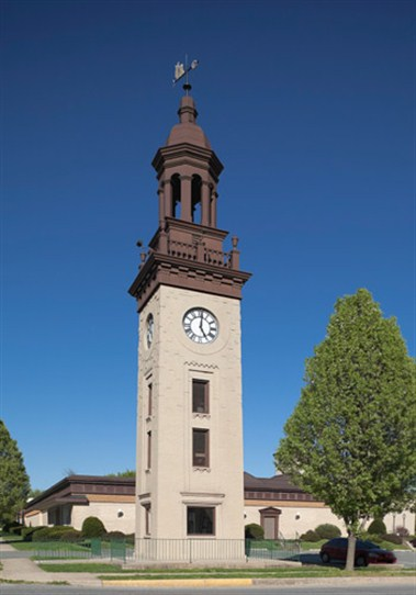 Clock Tower at the National Watch and Clock Museum