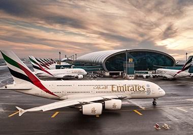 Emirates A380 Terminal Dubai