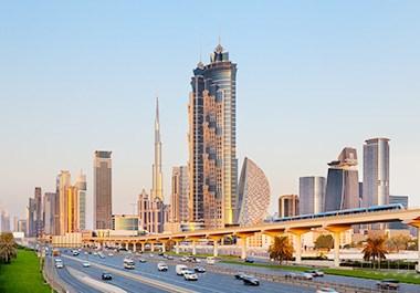 JW Marriott Marquis Dubai City View