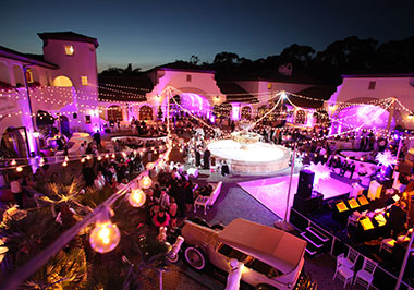 Courtyard Event at the Ritz-Carlton Bacara