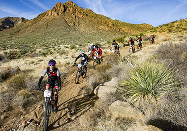 Franklin Mountains Bikers