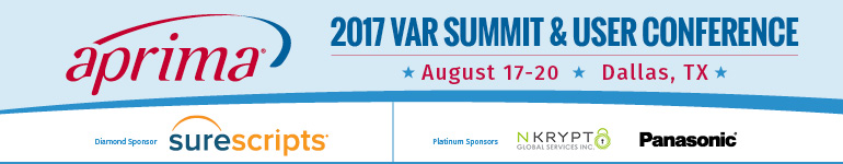Aprima 2017 VAR Summit and User Conference