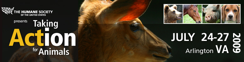 Taking Action for Animals 2009