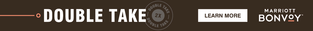 Marriott Double Take Promotion