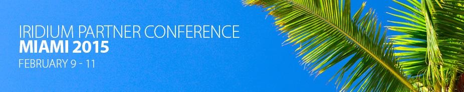 Iridium Partner Conference 2015
