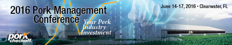 2016 Pork Management Conference