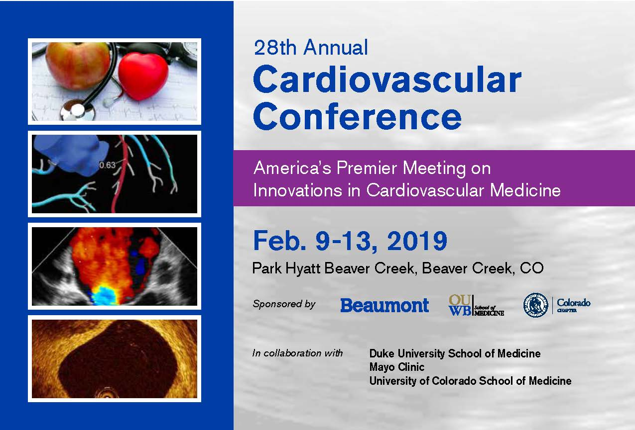 28th Annual Cardiovascular Conference