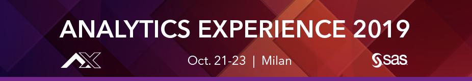 Analytics Experience 2019 Milan