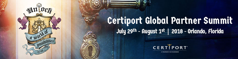 2018 Certiport Global Partner Summit