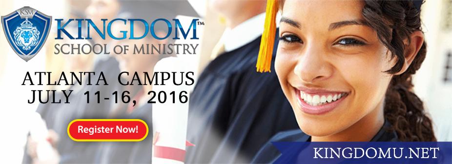 Kingdom School of Ministry - Atlanta, 2016
