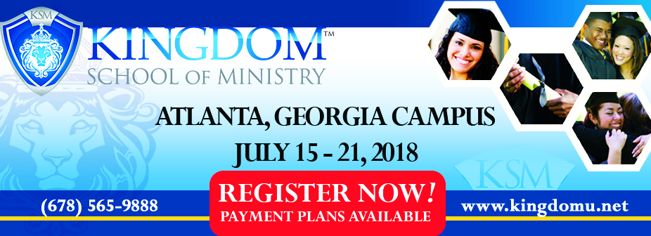 Kingdom School of Ministry - Atlanta, 2018