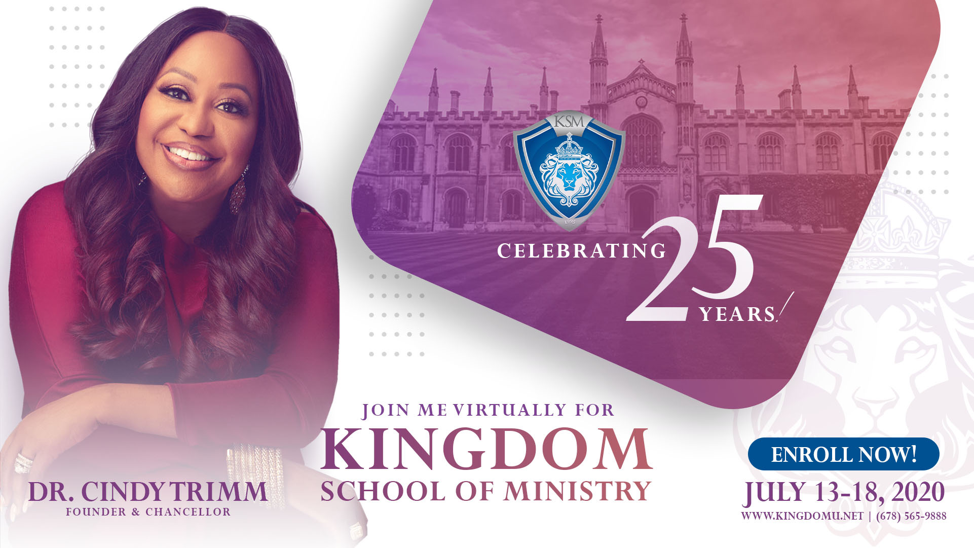 Kingdom School of Ministry - 2020 Virtual Experience