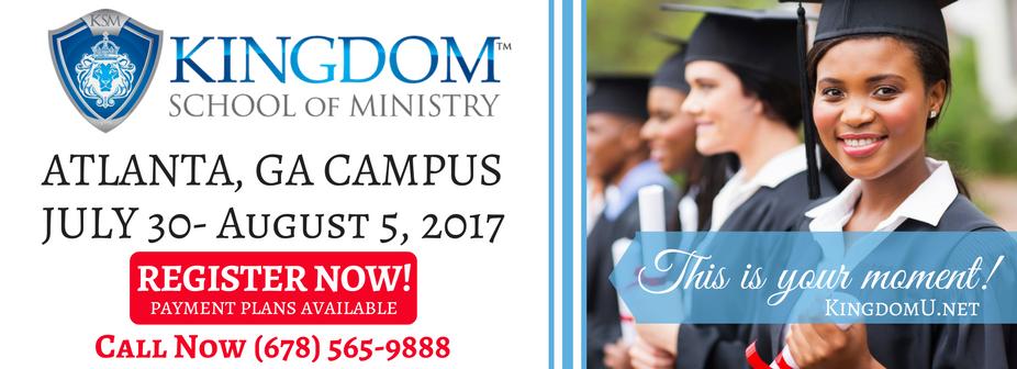Kingdom School of Ministry - Atlanta, 2017