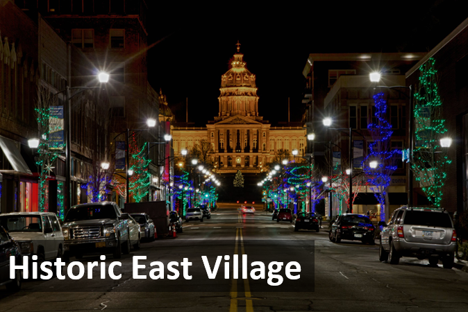 Explore DSM - East Village