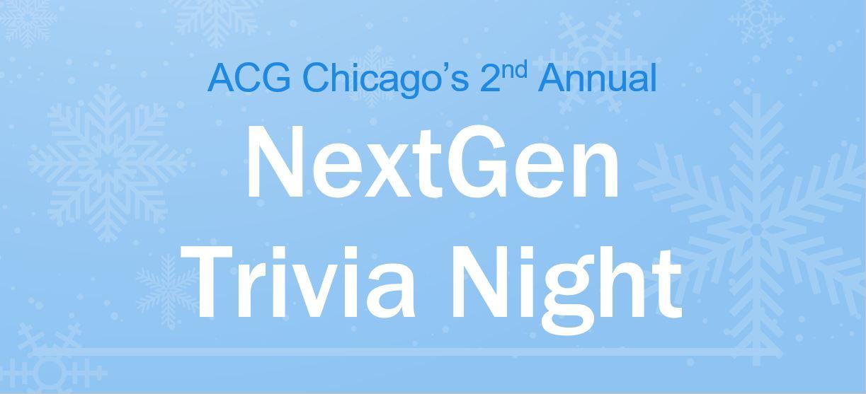 2019 NextGen Trivia Night