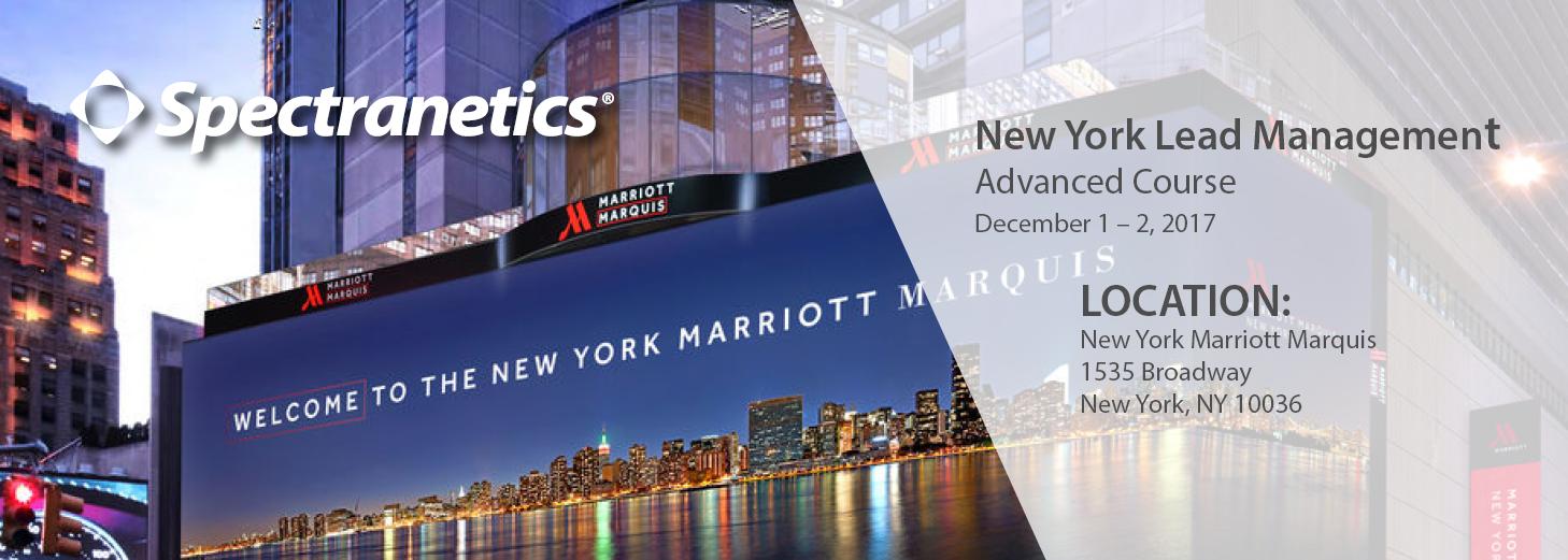 2017 New York Advanced Course