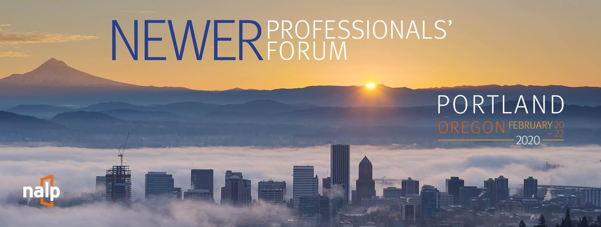 2020 NALP Newer Professionals' Forum