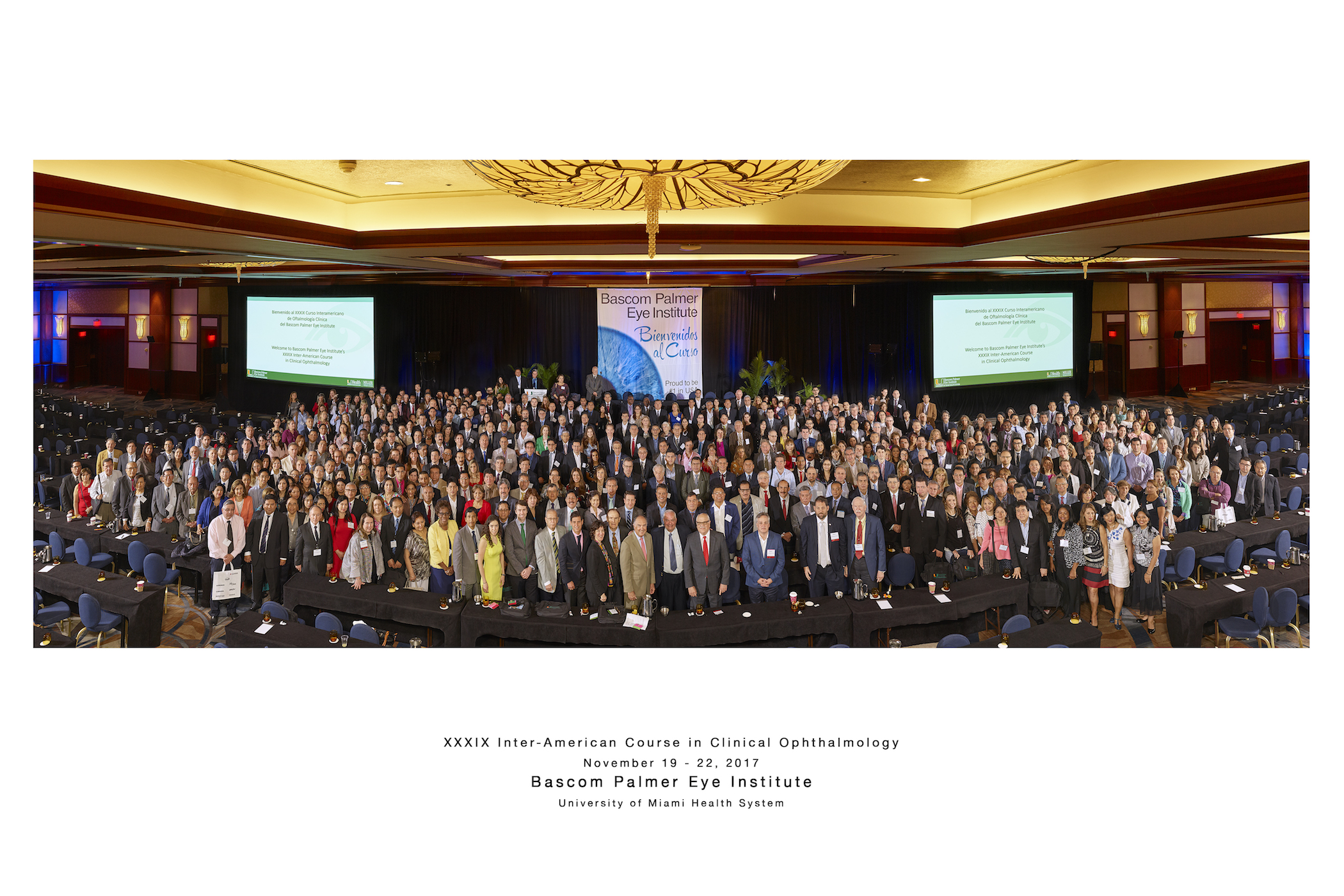 XXXIX Inter-American Course in Clinical Ophthalmology