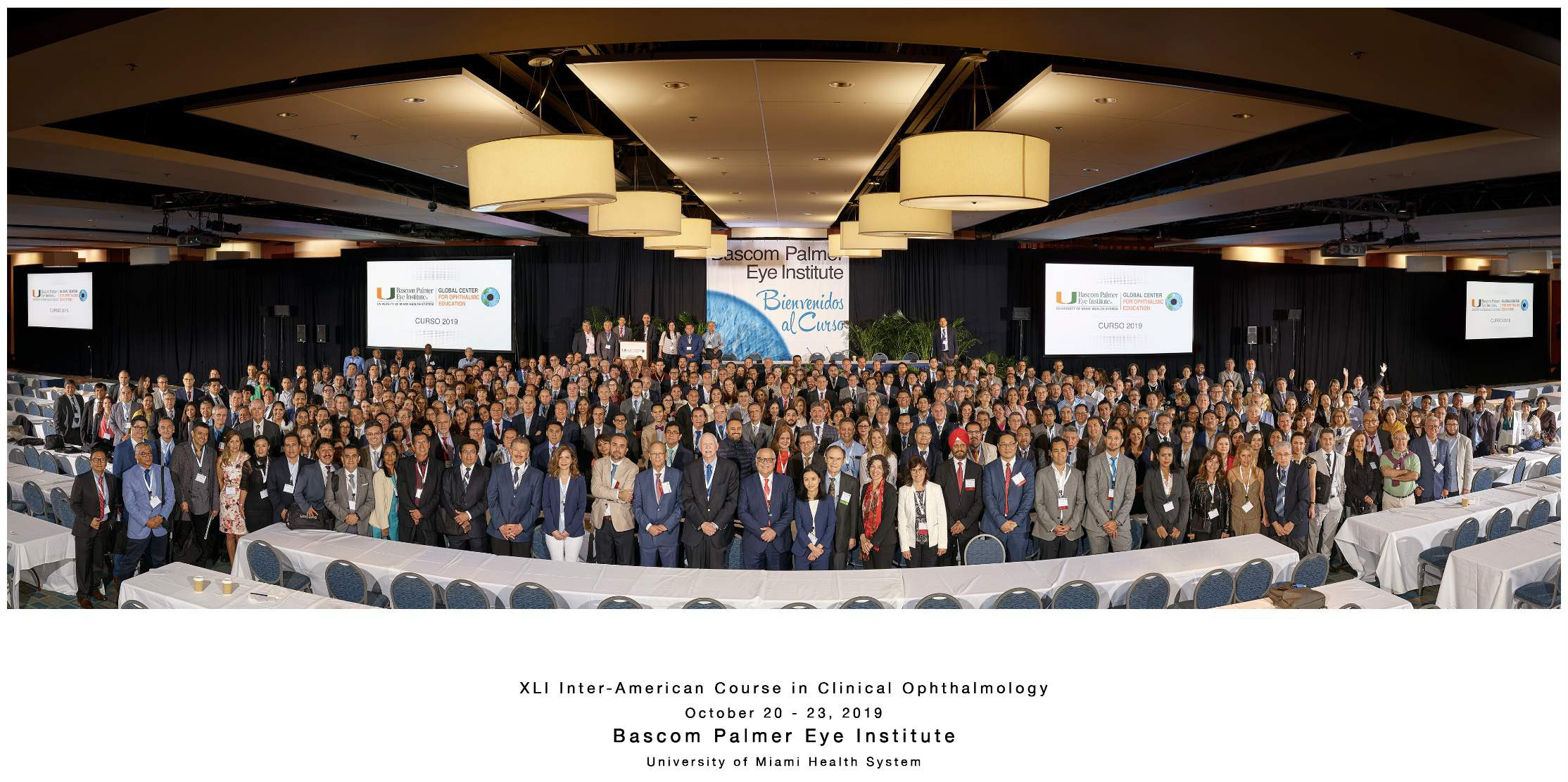 XLI Inter-American Course in Clinical Ophthalmology