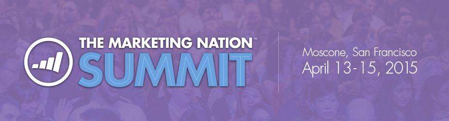 The Marketing Nation Summit - 2015