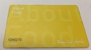Topup card