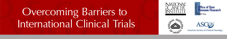 Overcoming Barriers to International Clinical Trials