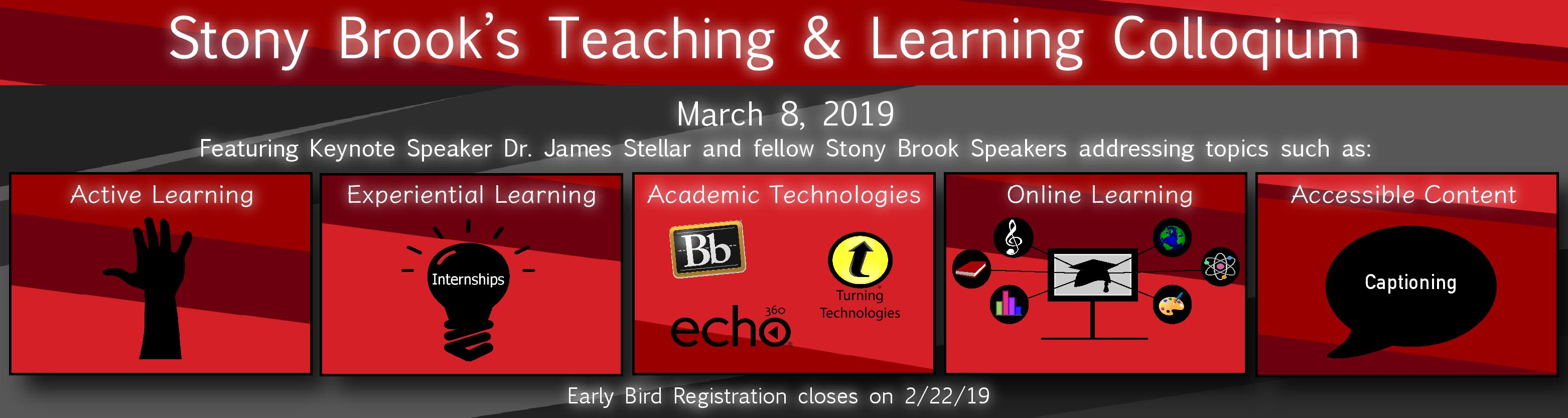 2019 Teaching & Learning Colloquium - Friday 3/8/19