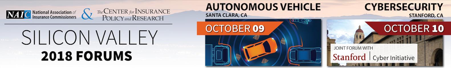MTG-Autonomous Vehicle Insurance Forum & NAIC/Stanford University Joint Cybersecurity Forum