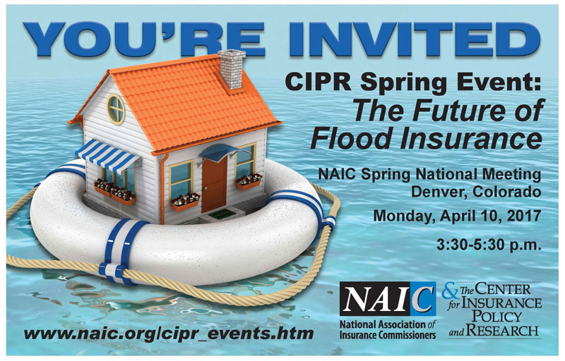 CIPR Spring Event: The Future of Flood Iinsurance