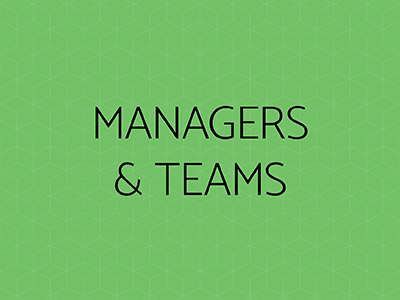 Managers and Teams