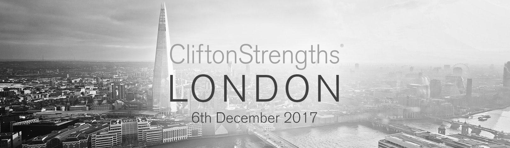 CliftonStrengths Summit - London