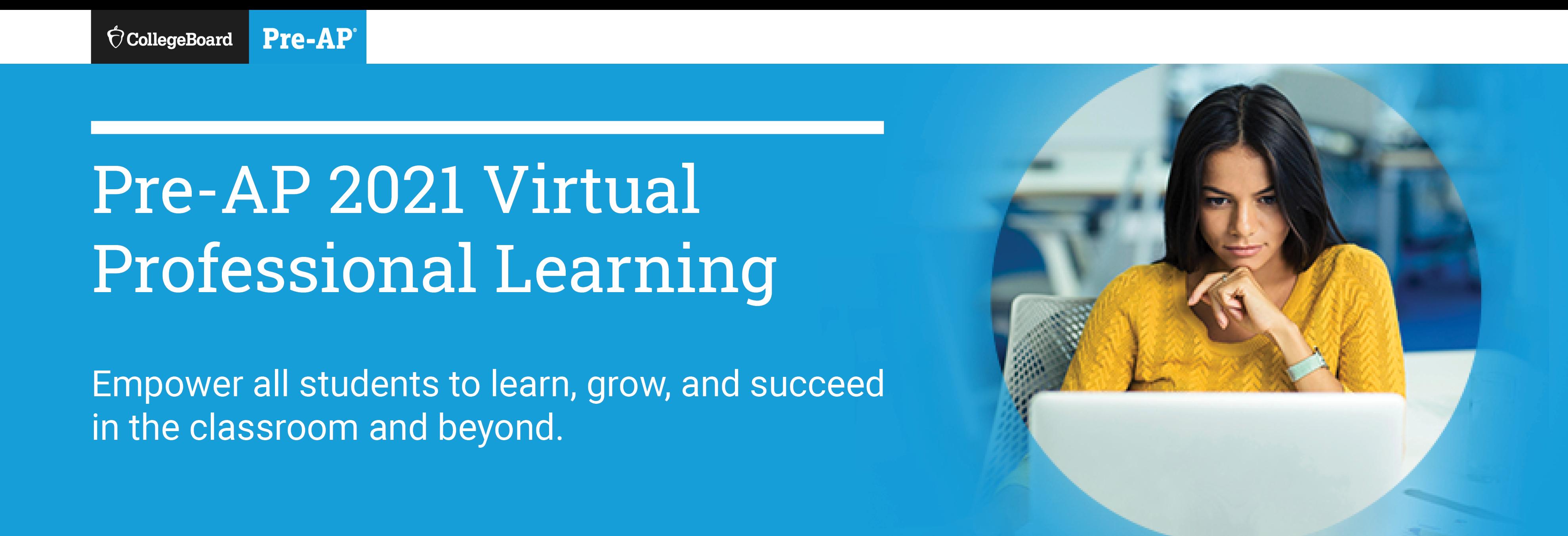 Pre-AP Virtual New Leader Lounge 2021