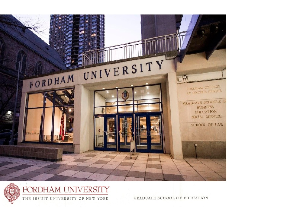 Fordham University APSI  *ONLINE* -Week 3 :July 13-17, 2020
