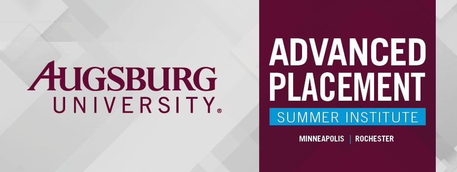 Augsburg University APSI - Minneapolis
