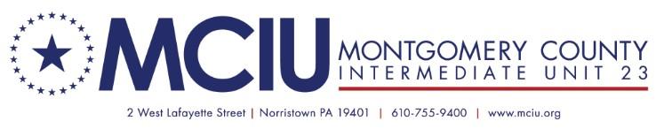 Montgomery County Intermediate Unit Online AP Summer Institute 2021 Week 2