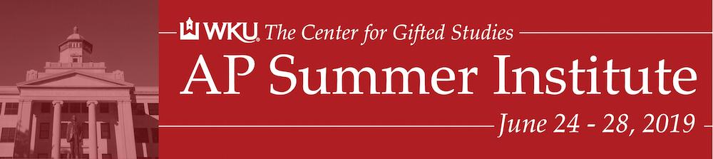 Western Kentucky University AP Summer Institute 2019