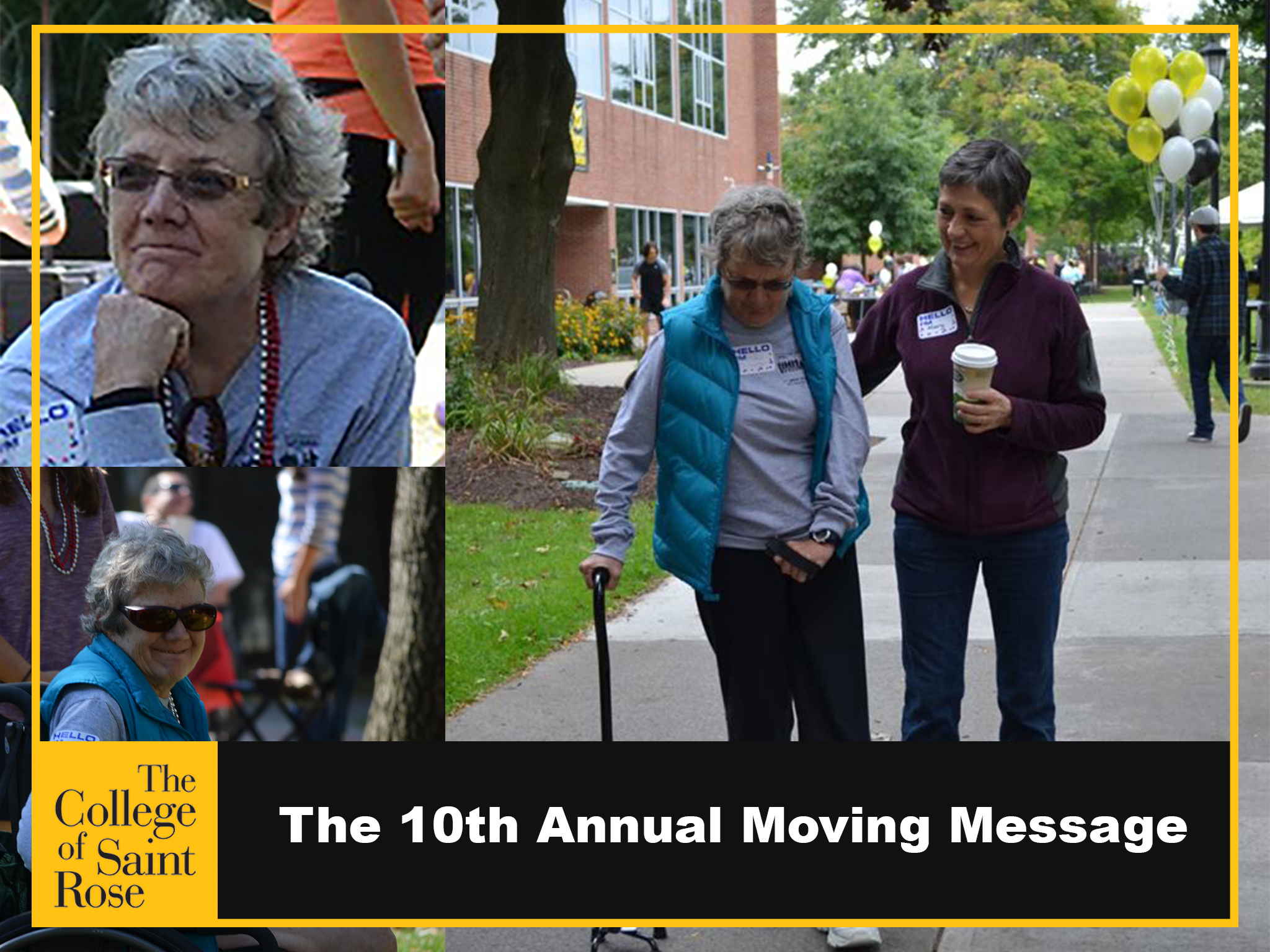 The 10th Annual Moving Message Awareness and Fundraising Walk