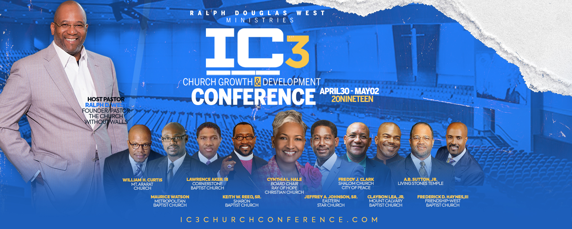 2019 IC3  Church Growth & Development Conference