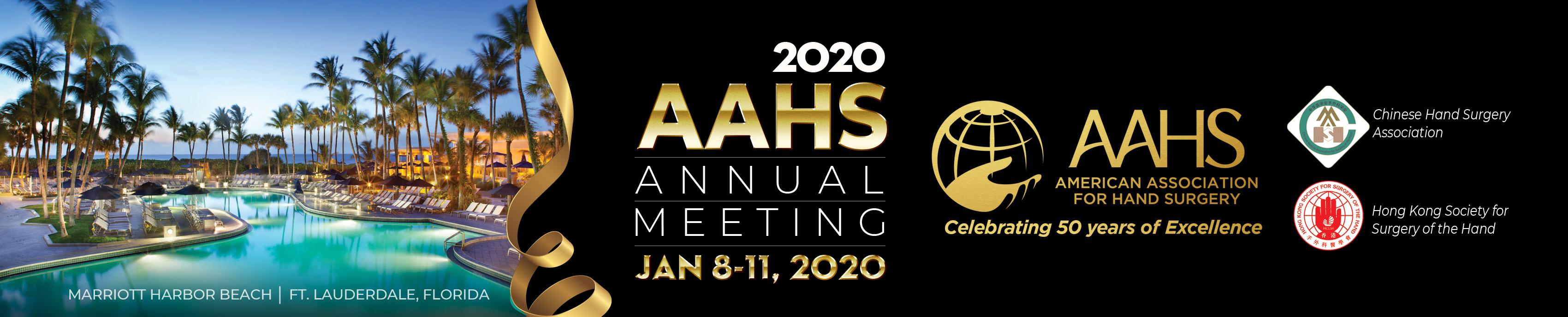 2020 AAHS  Annual Meeting