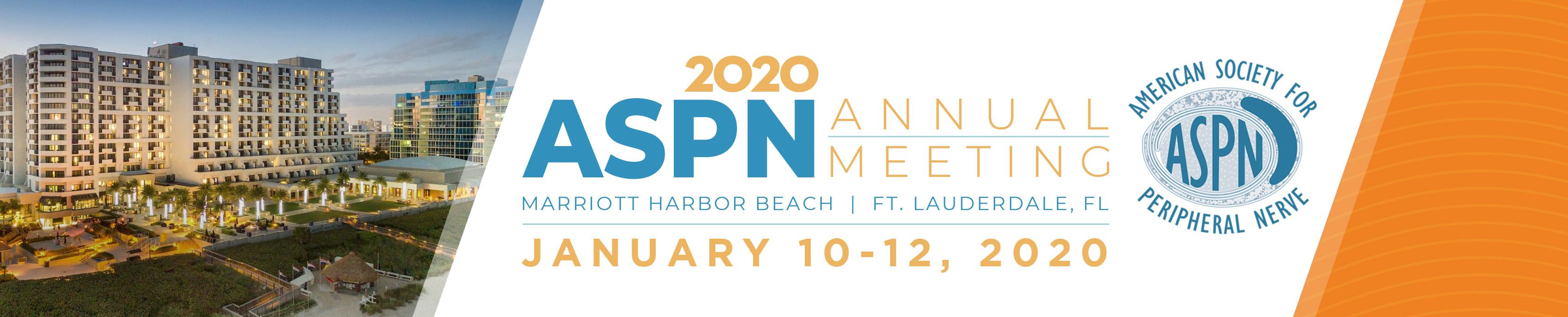 2020 ASPN Annual Meeting