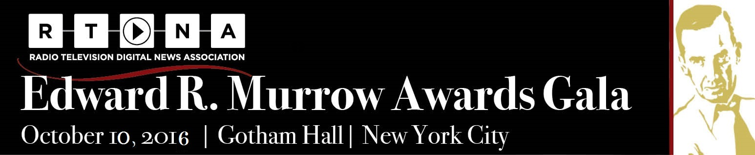 2016 RTDNA Edward R. Murrow Awards Gala