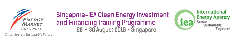 Singapore-IEA Clean Energy Investment and Financing Training Programme